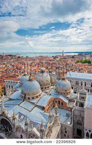 Panorama Of Venice, Italy