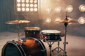 Drum kit, percussion instrument, beat set, nobody poster