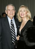BEVERLY HILLS, CA - DEC 1: Tom Bosley; wife Patti Carr at the 6th annual Family Television Awards at