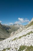 picture of engadine  - alpine landscape in Engadine - JPG