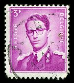 BELGIUM-CIRCA 1953:A stamp printed in BELGIUM shows image of Leopold III reigned as King of the Belg