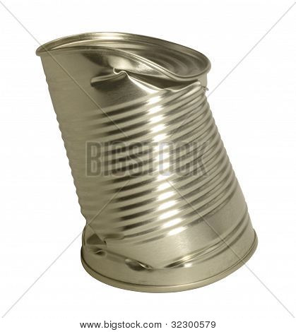 Bent Tin Can