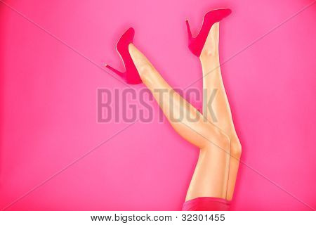 Fashion High Heels And Sexy Legs