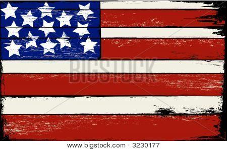 Woodflaggrunge