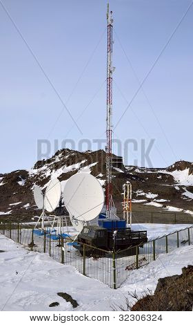 Cell Site Somewhere In Arctic