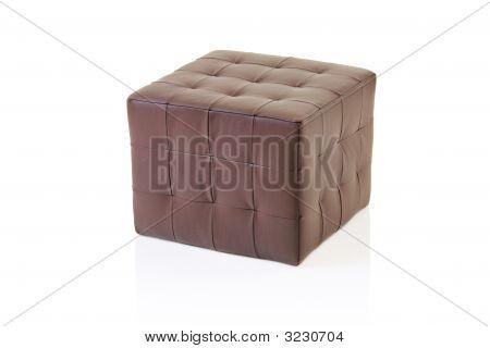 Brown Footstool
