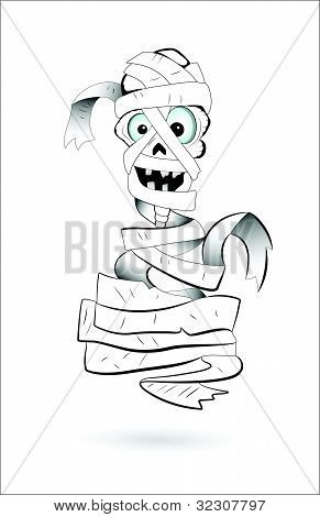 Art of Spooky Mummy