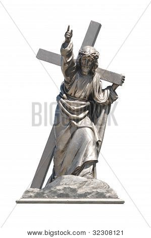 Jesus Christ with cross