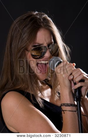 Singing Rock Girl