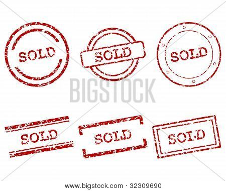 Sold Stamps