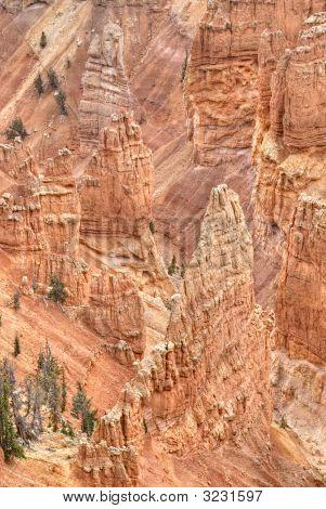 Impression Of Cedar Breaks Canyon