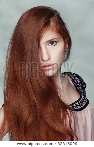 Beautiful Redheaded Girl