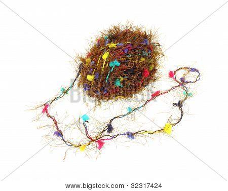 Tufted Twisted Straggly Yarn