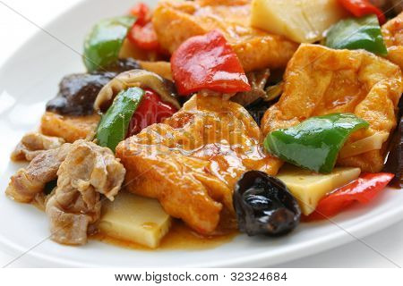 home style bean curd, chinese tofu cuisine