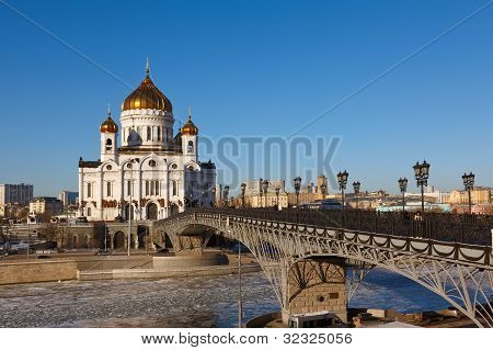 Christ the Saviour Cathedral in Moscow