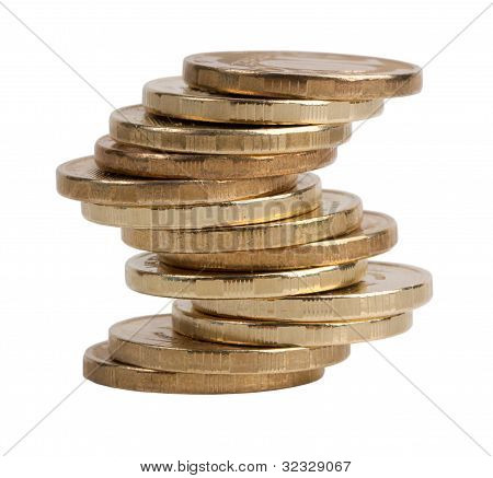 Small Pile Of Copper Coins