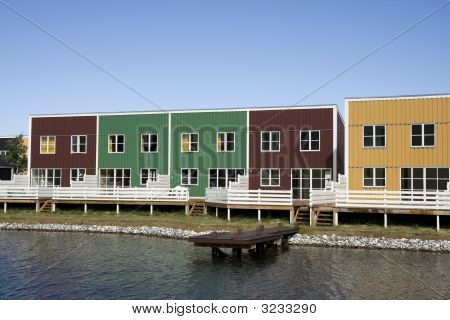 Colourful Holiday Homes