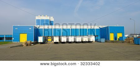 Blue Warehouse