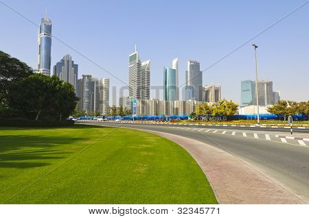 Dubai Financial District, UAE