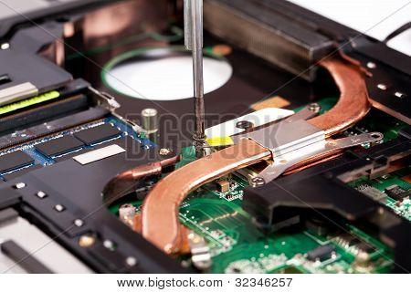 Laptop Cooling System Repairing