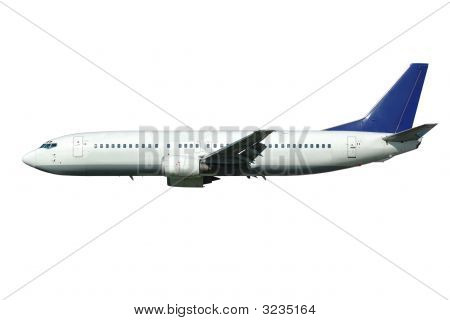 Flugzeug isolated on a white background