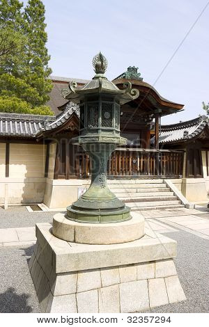 Japanese Traditional Bronze Lantern
