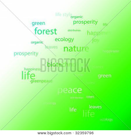 Nature and ecology of the earth