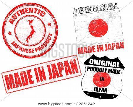 Gemaakt In Japan Stamps