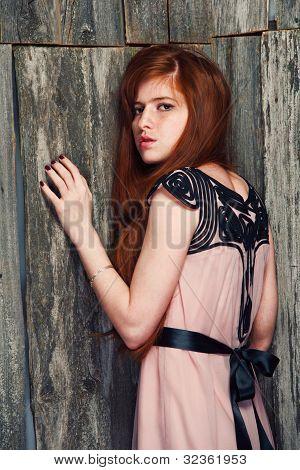 Sensual Beautiful Redheaded Girl