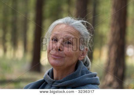 Silver Senior Woman