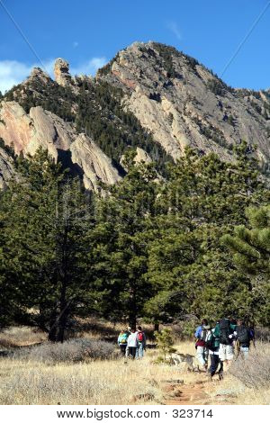 Hiking Near The Flatirons