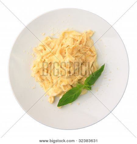 Fettuccine With Cheese