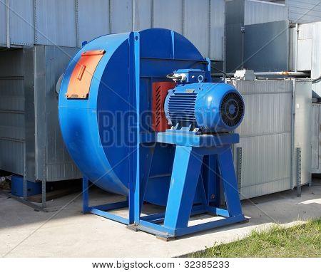 El ventilador Industrial