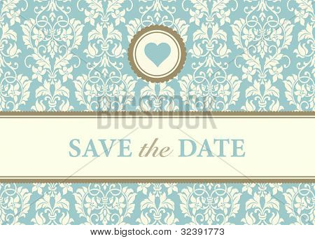Vector Heart Frame and Background. Easy to edit. Perfect for invitations or announcements.