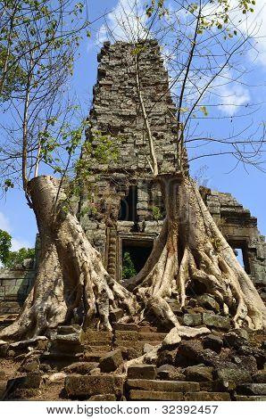 Preah Palilay At Angkor Cambodia