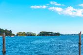 Matsushima Bay Sightseeing Cruises. Matsushima Bay Is Ranked As One Of The Three Views Of Japan. Miy poster