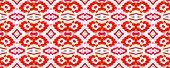 Trendy Random Texture. Salmon Red Fun Rectangle Comtemporary Rapport. Watercolor Vibrant Design. Pai poster