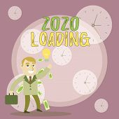 Writing Note Showing 2020 Loading. Business Photo Showcasing Advertising The Upcoming Year Forecasti poster