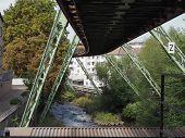 Wuppertaler Schwebebahn (wuppertal Suspension Railway) poster
