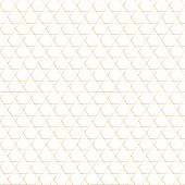 Seamless Geometrical Pattern. White Background With Golden Ornament. Vector Golden, Repetitive Patte poster