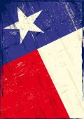 stock photo of texas star  - Flag of texas The flag of Texas with a texture for you - JPG