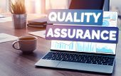 Qa Quality Assurance And Quality Control Concept poster