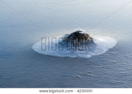 Stone In The Ice