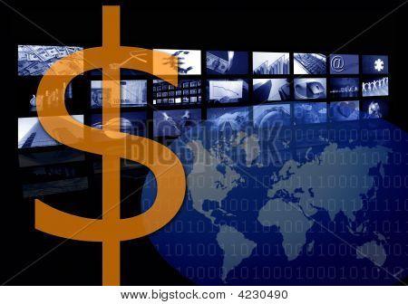 Dollar Business Corporate Image, Multiple Screen