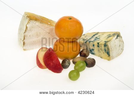 Cheese Fruit Nuts