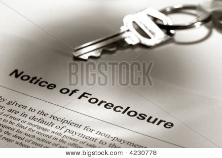 Real Estate Foreclosure Notice