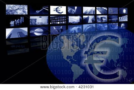 Euro Business Corporate Image, Multiple Screen