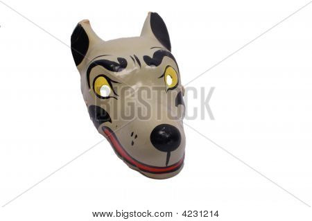 Mask Of Grey Wolf
