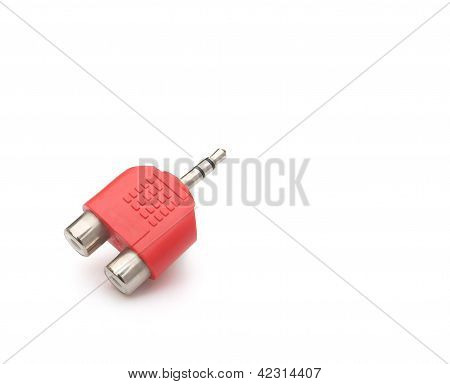 Input & Output Plug With Clipping Path