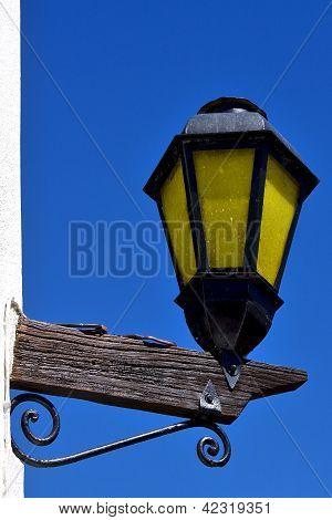 Street Lamp Colonia Del Sacramento  Uruguay